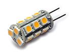 LED Lamp 12V, 3W, GY6.35, Warmwit, rond, dimbaar