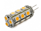 LED Lamp 12V, 3W, G4, Warmwit, rond, dimbaar