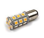LED Lamp 12V, 3W, BAY15D, Wit, rond, dimbaar