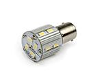 LED Lamp 12V - 24V, 3W, BAY15D, Wit, rond