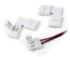 Strip hoekconnector voor 10 mm silicone