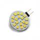 LED Lamp 12V, 2,5W, G4, Warmwit, horizontaal, dimbaar