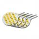 LED Lamp 12V, 2,5W, G4, Warmwit, horizontaal, dimbaar, plus, 4x