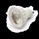 LED Lamp 230V, 6W, Wit-warmwit, GU10, dimbaar, ceramic