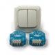 LED dimmer duo Eltako EUD61NPN-UC