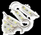 LED Module 12V 0,72W, Warmwit, dimbaar