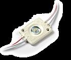 LED Module 12V 1,4W, Warmwit, lens, dimbaar