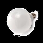 LED Lamp 230V, bol mat, 15W, Warmwit, E27