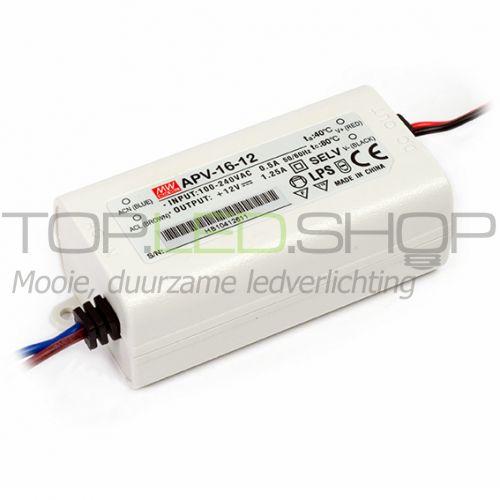 LED 16 Watt Elektronische niet dimbare transformator