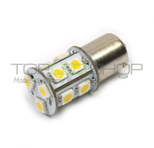 LED Lamp 12V, 2,2W, BA15S, Warmwit, rond, dimbaar