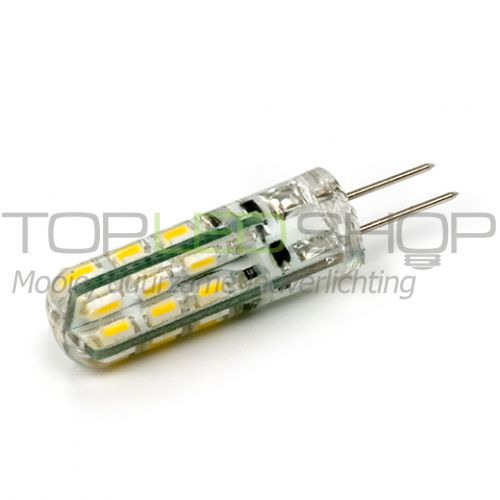 LED Lamp 12V, 1W, G4, Warmwit, rond, smal