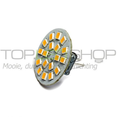 LED Lamp 12V, 2,5W, G4, Warmwit, vertikaal, dimbaar
