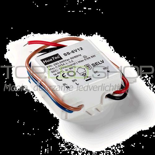 LED 6 Watt Elektronische niet dimbare transformator