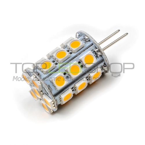 LED Lamp 12V, 4W, GY6.35, Warmwit, rond, dimbaar
