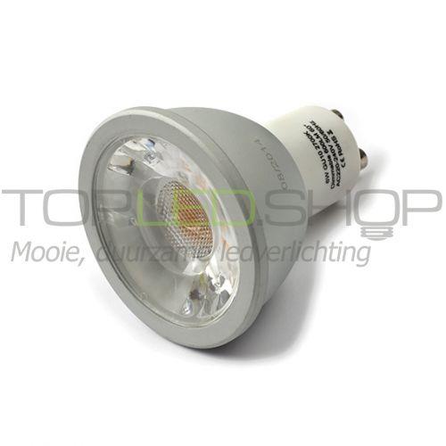 LED Lamp 230V, 6W, Warmwit, GU10, dimbaar