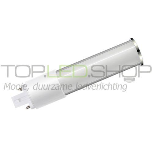 LED Lamp 230V, 8W, G24D, Wit-Warmwit