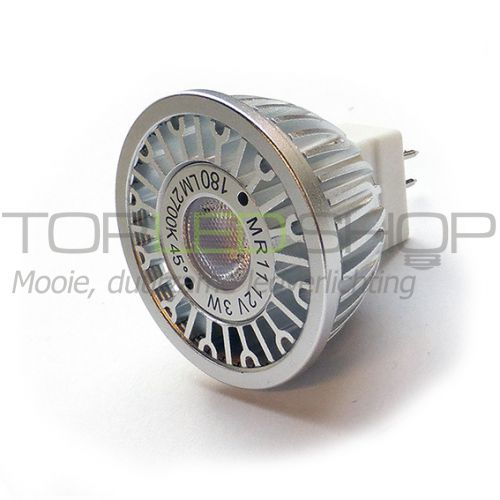 LED Lamp 12V, 3W, Warmwit, MR11