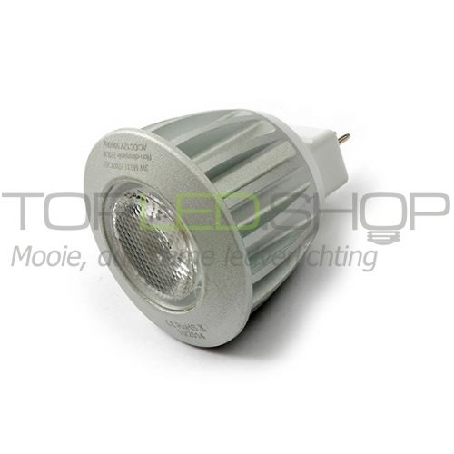 LED Lamp 12V, 3W, COB, Warmwit, MR11