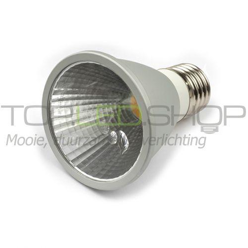 led lamp 230v 6w par20 wit warmwit e27 dimbaar led lamp par lampen vervangers topledshop. Black Bedroom Furniture Sets. Home Design Ideas