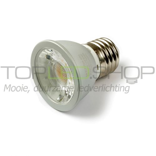 LED Lamp 230V, 6W, Spot, Warmwit, E27, dimbaar