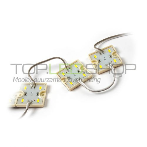 LED Module 12V 1,44W, Warmwit, dimbaar