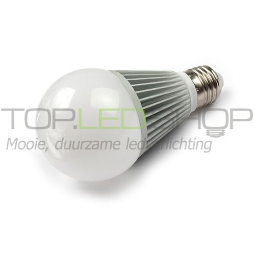LED Lamp 230V, 6W, Warmwit, E27, dimbaar