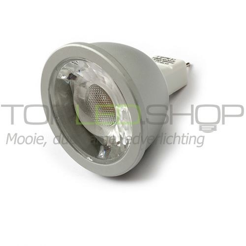 LED Lamp 12V, 6W, Wit, MR16, dimbaar, CRI 90