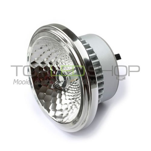 LED lamp 12V, 15W, AR111, G53, Warmwit