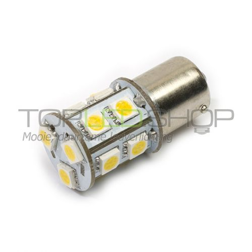 LED Lamp 12V, 2,2W, BAY15D, Warmwit, rond, dimbaar