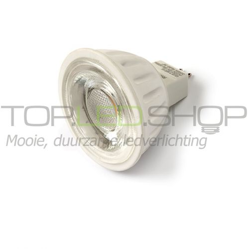 LED Lamp 12V, 6W, Wit-warmwit, MR16, ceramic