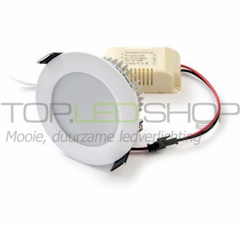 LED Downlighter 230V, 5W, Warmwit, dimbaar