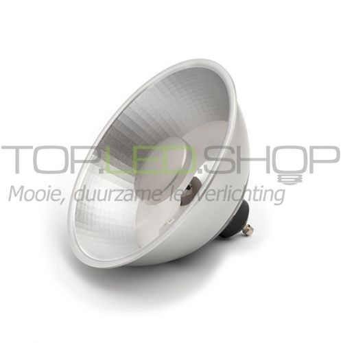 LED lamp 230V, 12W, AR111, GU10, Wit-Warmwit, dimbaar