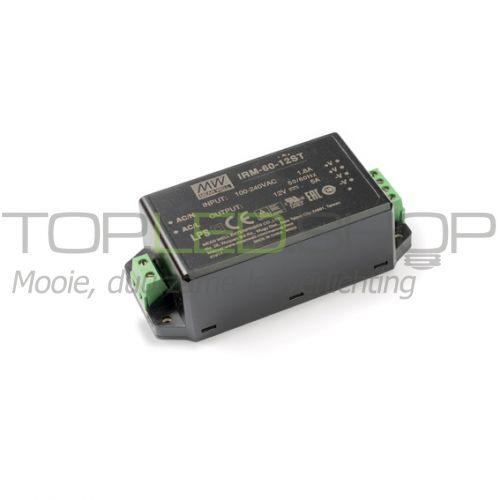LED 60 Watt niet dimbare transformator, IRM-60-ST