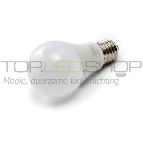 LED Lamp 230V, bol mat, 6W, Warmwit, E27, dimbaar