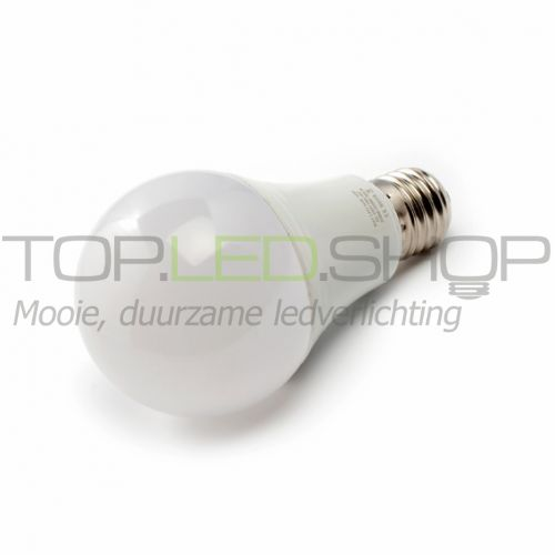 LED Lamp 230V, bol mat, 10W, Warmwit, E27