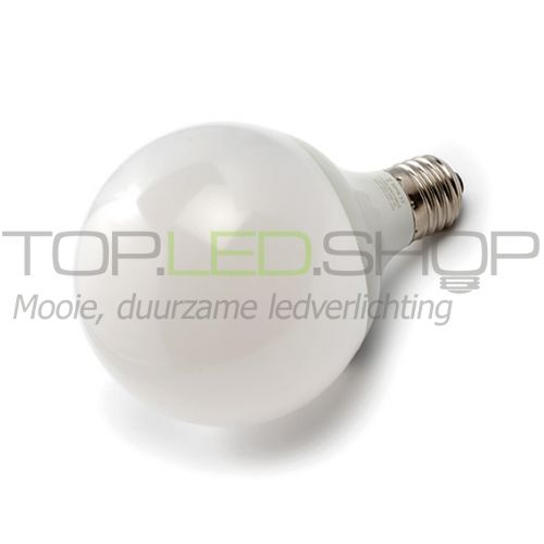 LED Lamp 230V, bol mat, 12W, Warmwit, E27, dimbaar