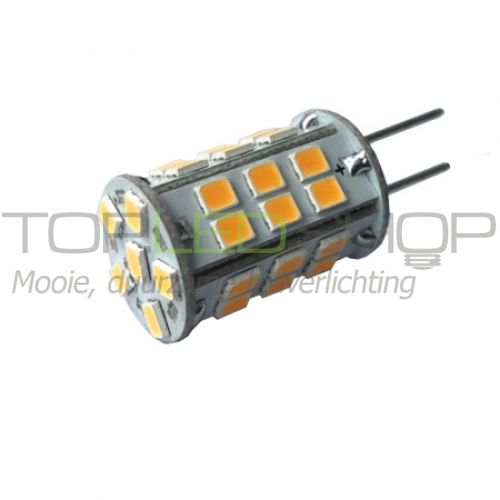 LED Lamp 12V, 2,6W, GY6.35, Warmwit, rond, dimbaar