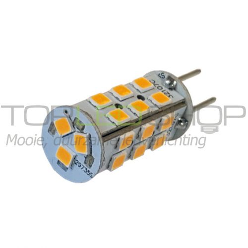 LED Lamp 12V, 2,3W, GY6.35, Warmwit, rond, dimbaar