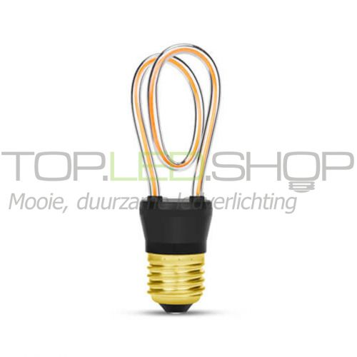 LED Lamp 230V, Art-Line, 4W, Y-shape, Extra-warmwit, E27, dim
