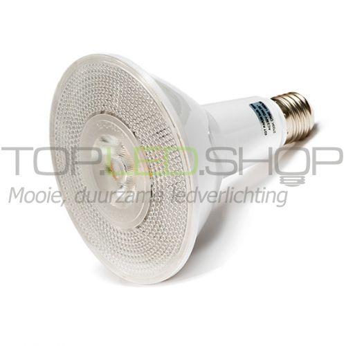 LED Lamp 230V, 16W, E27 PAR38, Wit-Warmwit, dimbaar